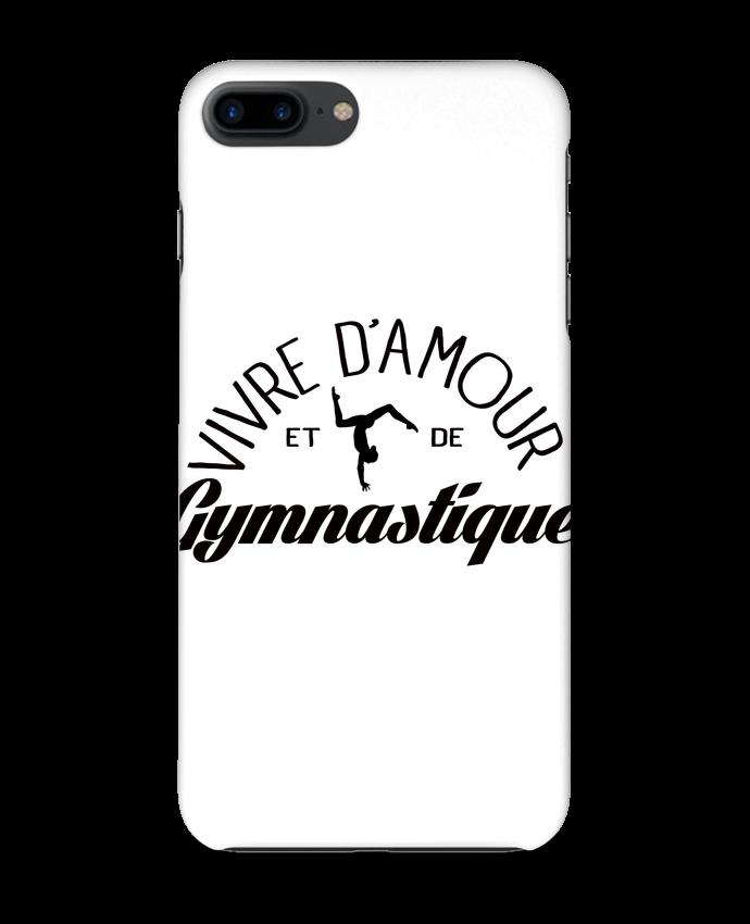 Coque iPhone 7 Vivre d'amour et de Gymnastique par Freeyourshirt.com