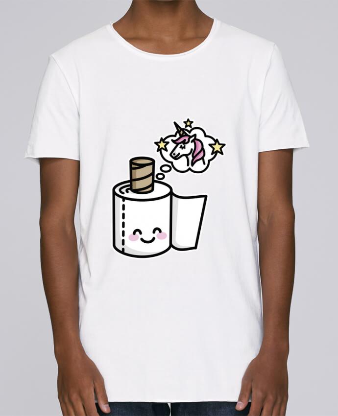 T-shirt Homme Oversized Stanley Skates Unicorn Toilet Paper par LaundryFactory