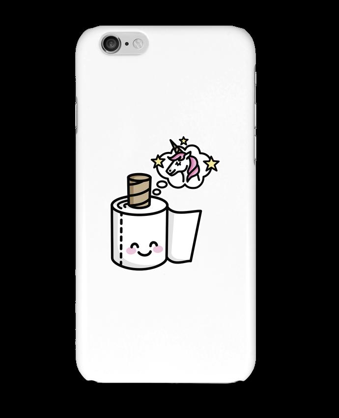 Coque 3D Iphone 6 Unicorn Toilet Paper par LaundryFactory