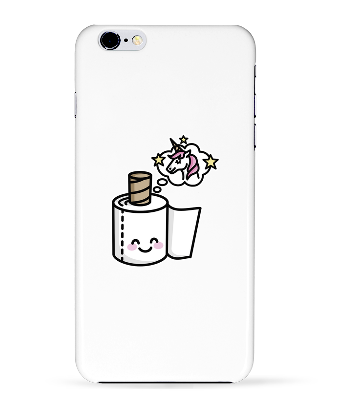 Coque 3D Iphone 6+ Unicorn Toilet Paper de LaundryFactory