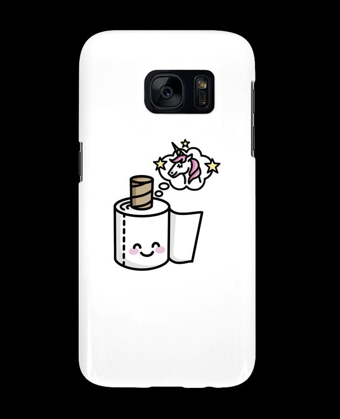 Coque 3D Samsung Galaxy S7 Unicorn Toilet Paper par LaundryFactory