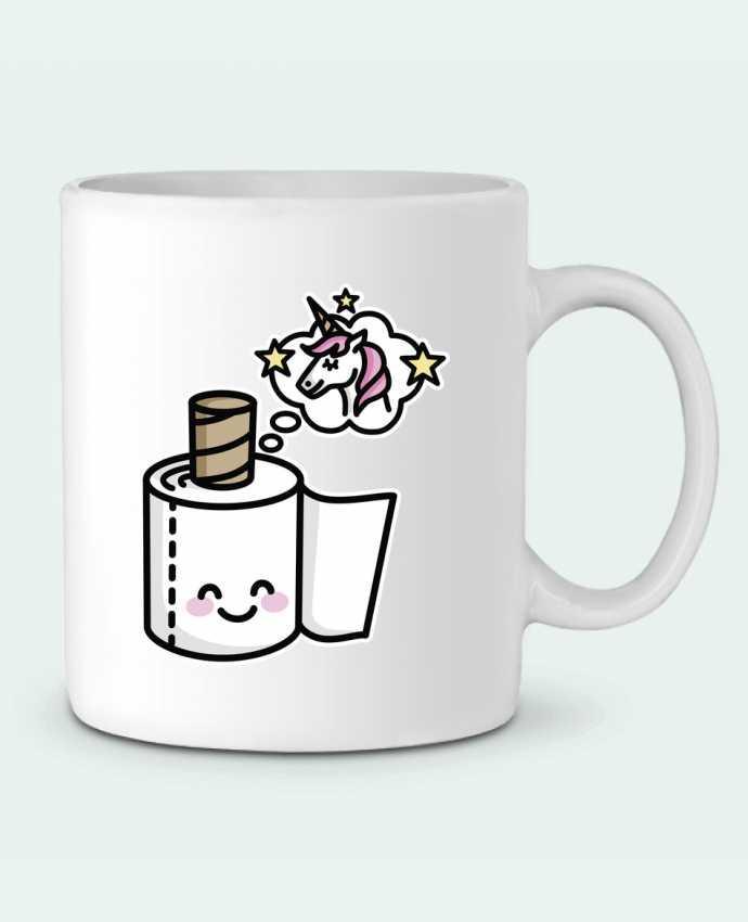 Mug en Céramique Unicorn Toilet Paper par LaundryFactory
