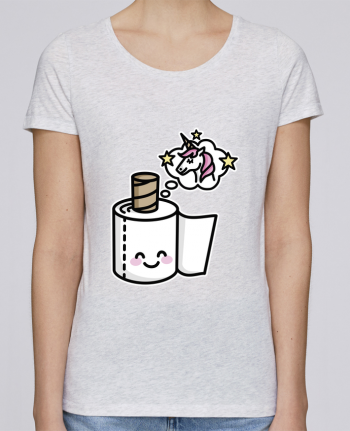 T-shirt Femme Stella Loves Unicorn Toilet Paper par LaundryFactory