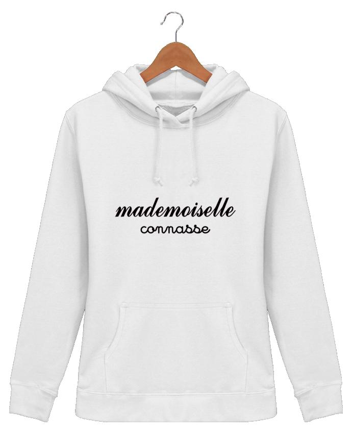 Sweat à Capuche Femme Mademoiselle Connasse - Freeyourshirt.com