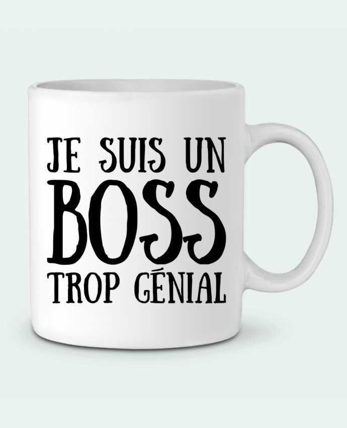 Mug  Je suis un boss trop génial par tunetoo