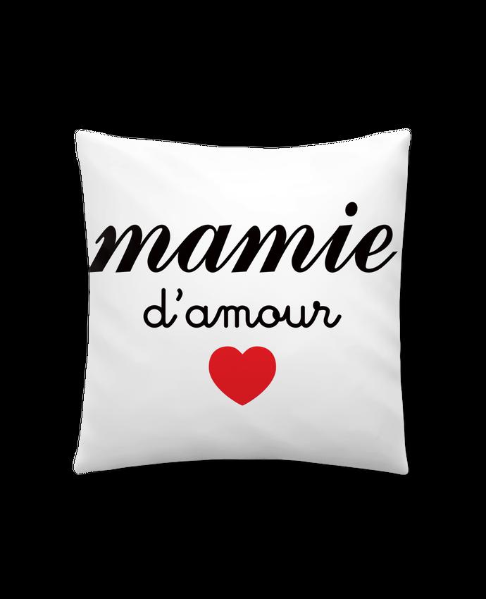 Coussin Synthétique Doux 41 x 41 cm Mamie D'amour par Freeyourshirt.com