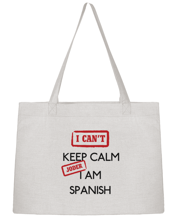 Sac Cabas Shopping Stanley Stella I can't keep calm jorder I am spanish par tunetoo