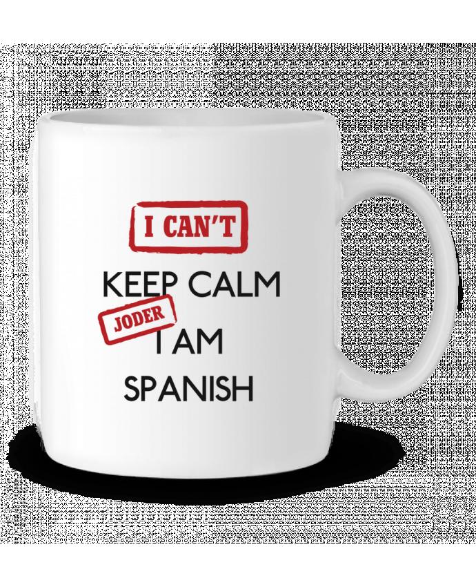 Mug en Céramique I can't keep calm jorder I am spanish par tunetoo