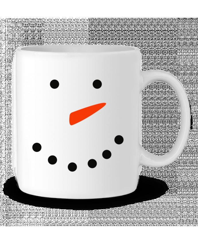 Mug en Céramique Bonhomme de neige par tunetoo