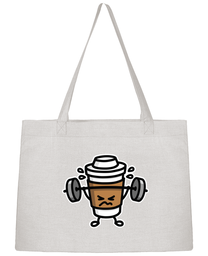 Sac Cabas Shopping Stanley Stella STRONG COFFEE SMALL par LaundryFactory