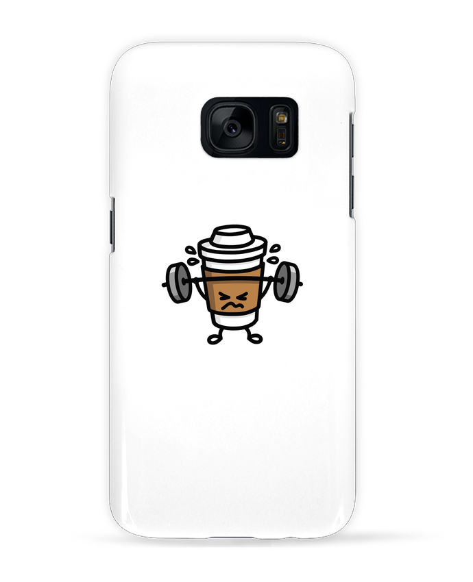 Coque 3D Samsung Galaxy S7 STRONG COFFEE SMALL par LaundryFactory