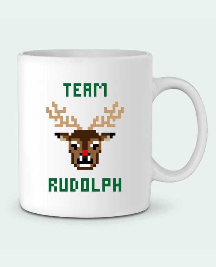 Mug en Céramique TEAM RUDOLPH par tunetoo