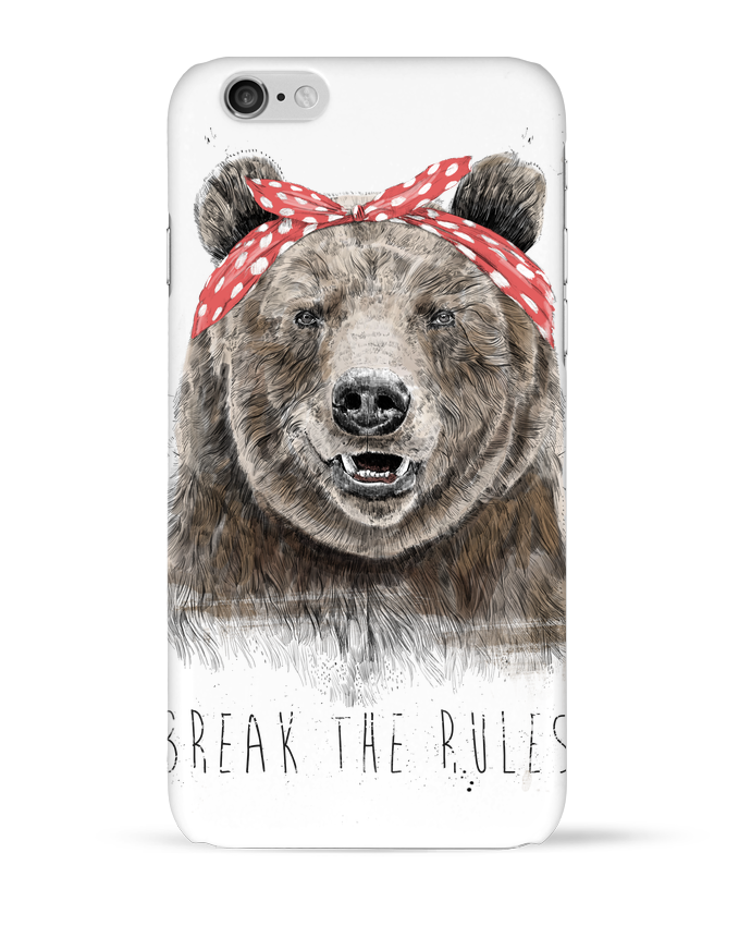 Coque 3D Iphone 6 Break the rules II par Balàzs Solti