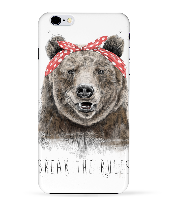 Coque 3D Iphone 6+ Break the rules II de Balàzs Solti
