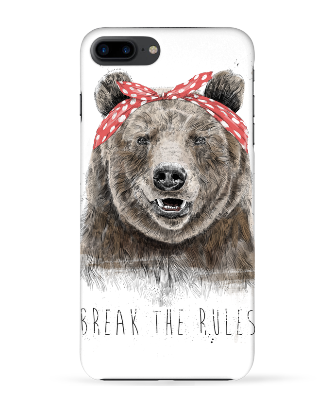 Coque 3D Iphone 7+ Break the rules II par Balàzs Solti
