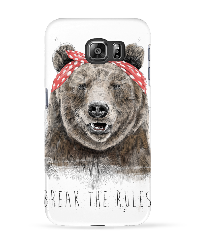 Coque 3D Samsung Galaxy S6 Break the rules II - Balàzs Solti
