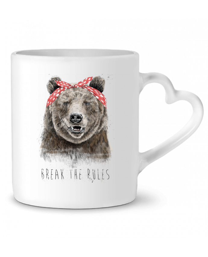 Mug Coeur Break the rules II par Balàzs Solti