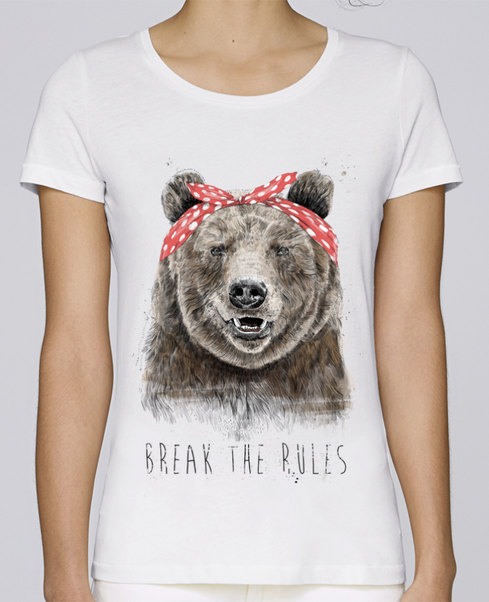 T-shirt Femme Stella Loves Break the rules II par Balàzs Solti