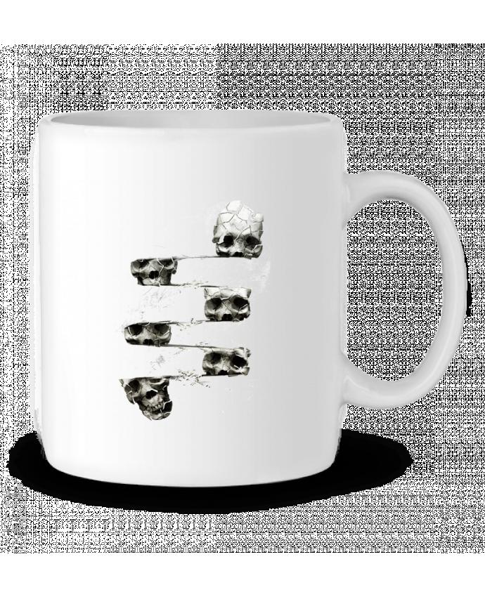 Mug en Céramique Skull 3 par ali_gulec