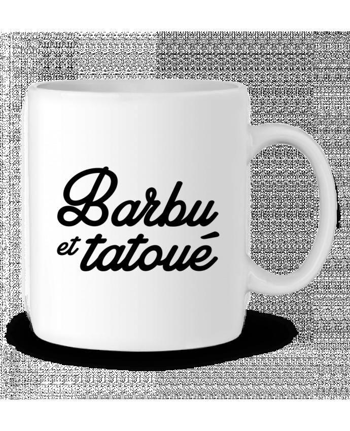 Mug en Céramique Barbu et tatoué par Nana