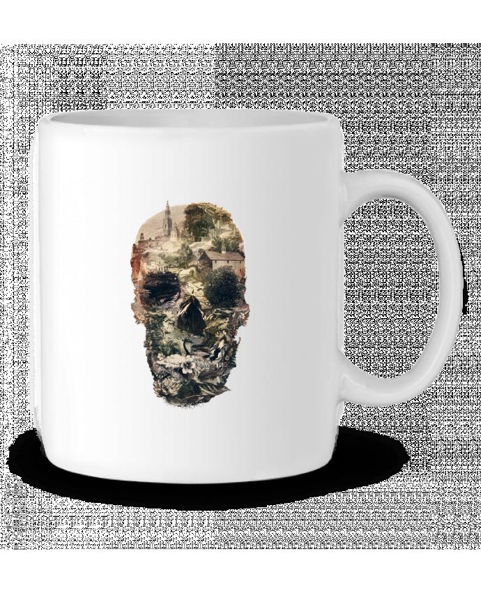 Mug en Céramique Skull town par ali_gulec