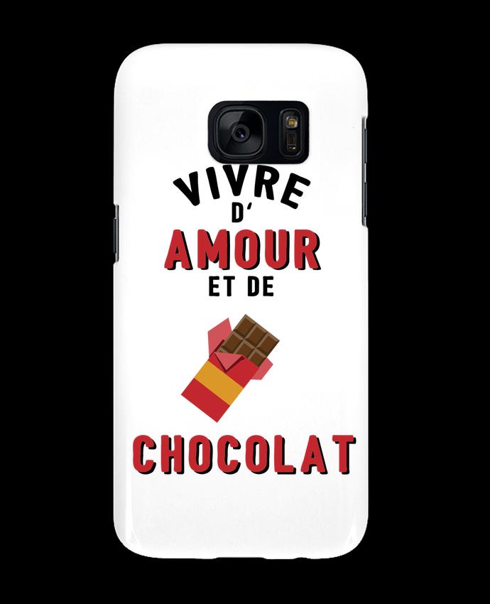 coque iphone 7 plus chocolat 3d