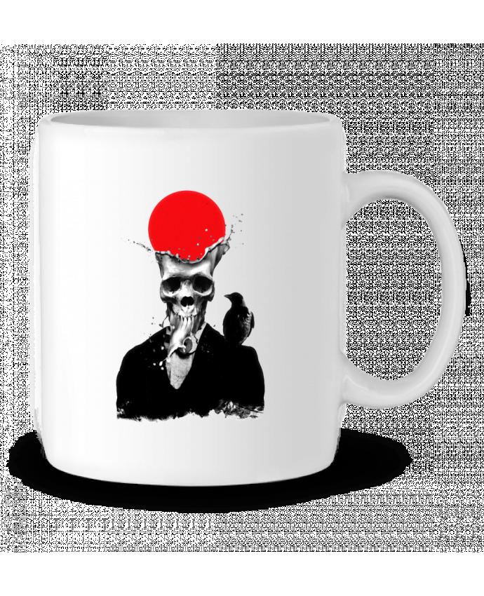 Mug en Céramique Splash skull par ali_gulec