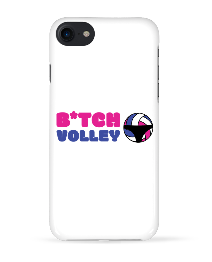 Coque 3D Iphone 7 B*tch volley de tunetoo