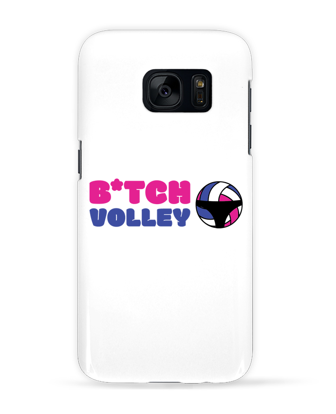 Coque 3D Samsung Galaxy S7 B*tch volley par tunetoo