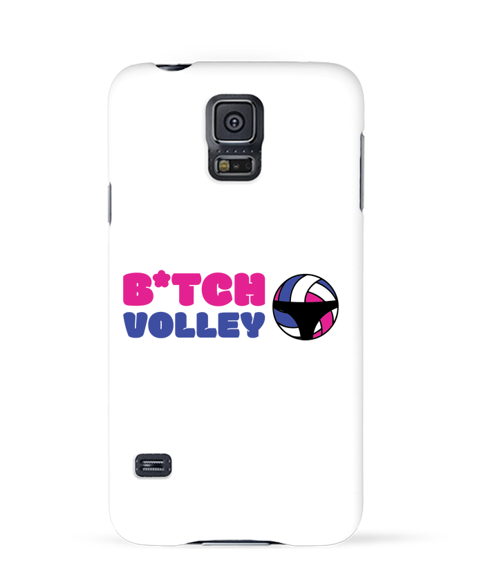 Coque 3D Samsung Galaxy S5 B*tch volley par tunetoo