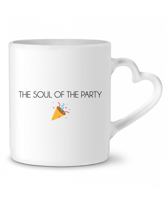 Mug Coeur The soul of the party basic par tunetoo