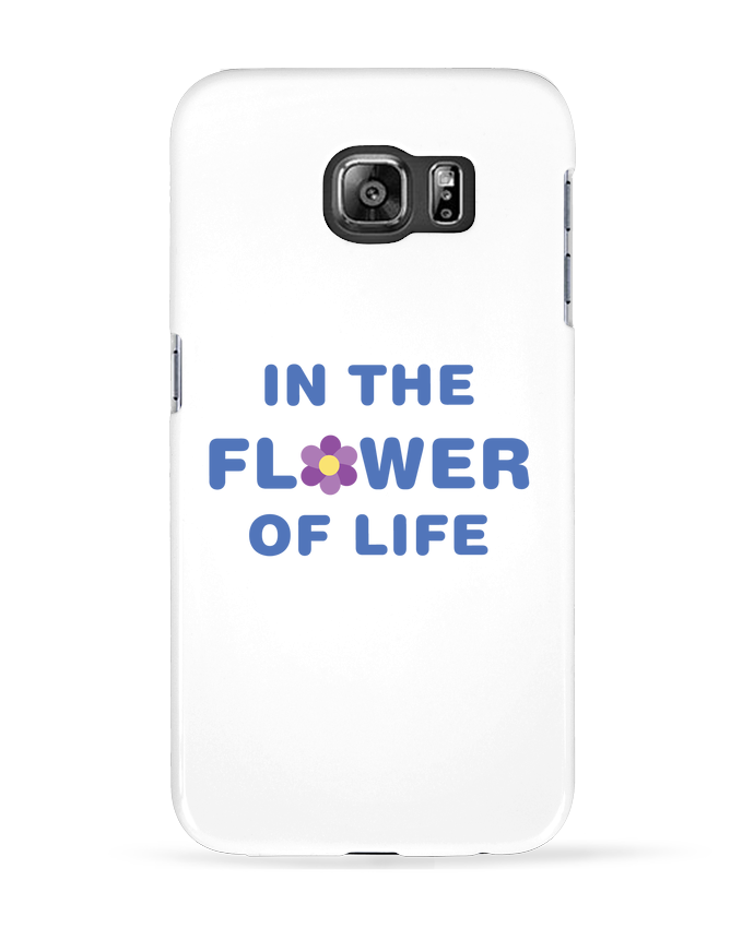 Coque 3D Samsung Galaxy S6 In the flower of life - tunetoo