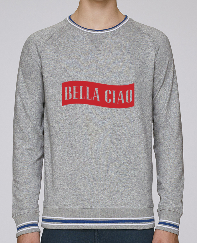 Sweat Col Rond Homme Stanley Strolls Tipped BELLA CIAO par tunetoo