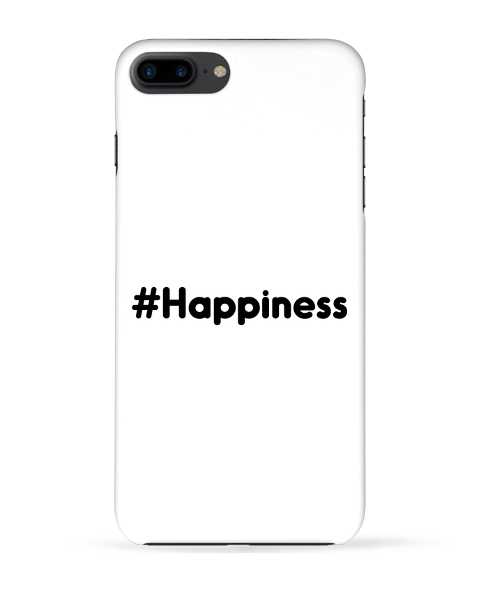 Coque 3D Iphone 7+ #Happiness par tunetoo
