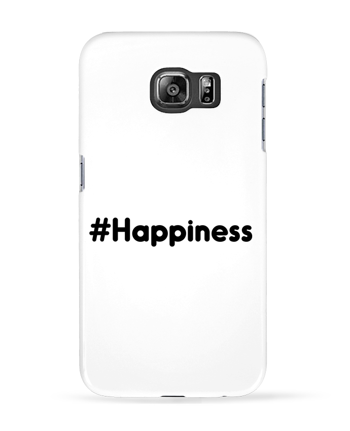 Coque 3D Samsung Galaxy S6 #Happiness - tunetoo