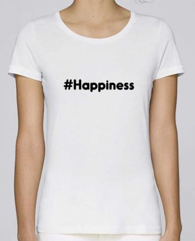 T-shirt Femme Stella Loves #Happiness par tunetoo