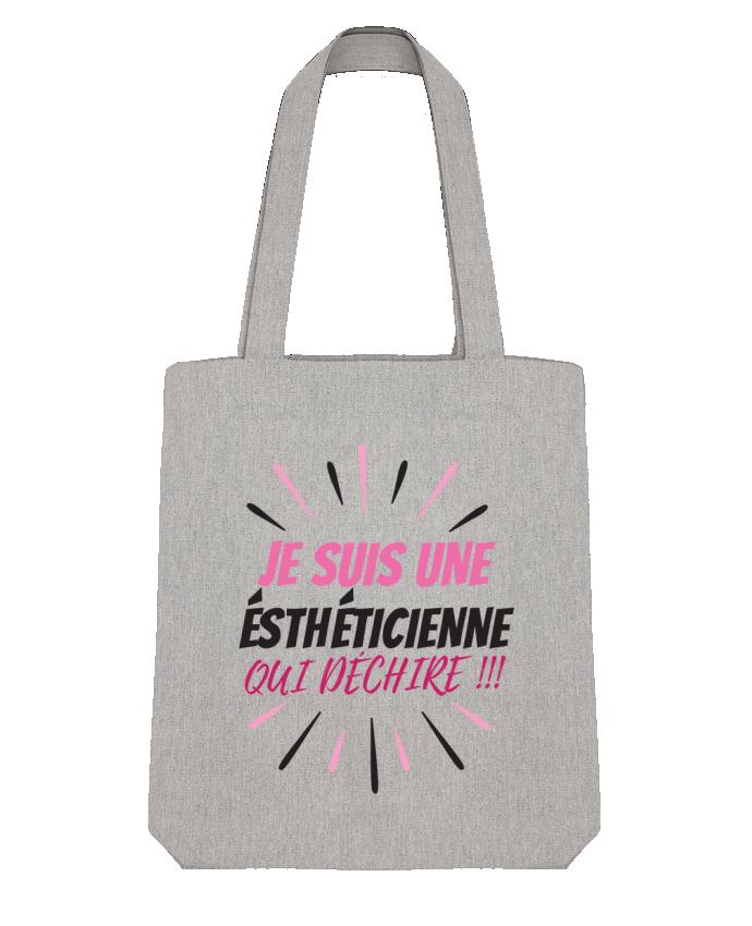 Tote Bag Stanley Stella estheticienne par DesignMe