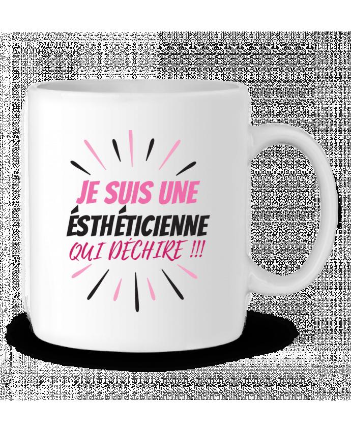 Mug en Céramique estheticienne par DesignMe