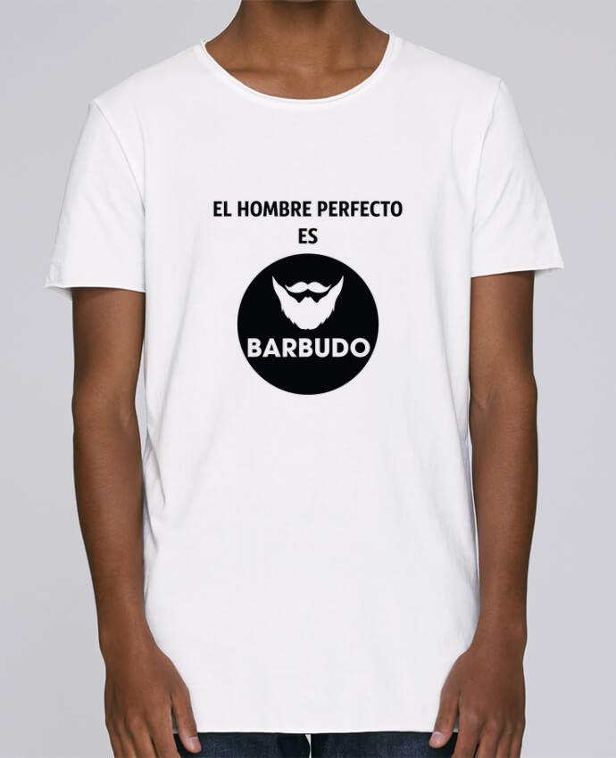 T-shirt Homme Oversized Stanley Skates El hombre perfecto es barbudo par tunetoo