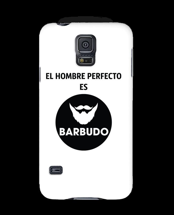 Coque 3D Samsung Galaxy S5 El hombre perfecto es barbudo par tunetoo