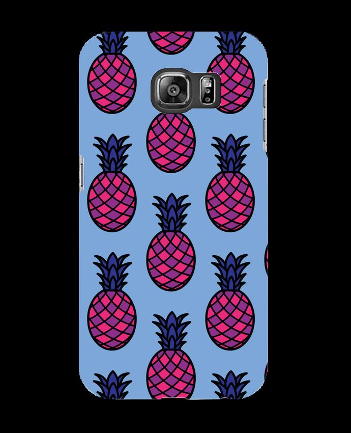 Coque 3D Samsung Galaxy S6 Ananas violet - tunetoo