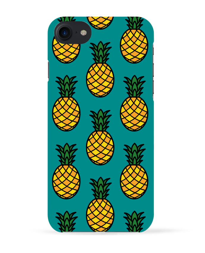 Coque 3D Iphone 7 Ananas orange de tunetoo