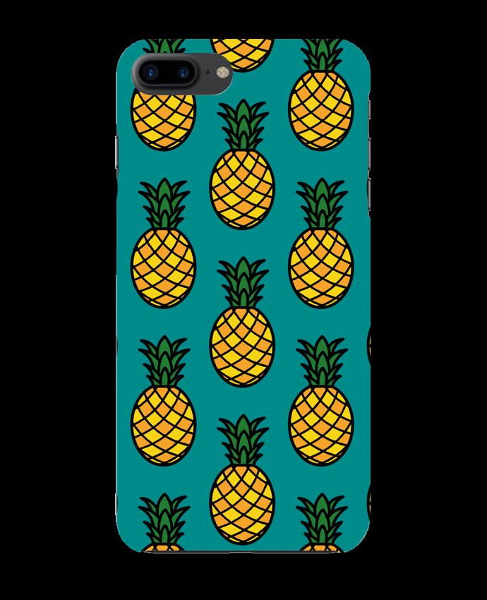 Coque 3D Iphone 7+ Ananas orange par tunetoo