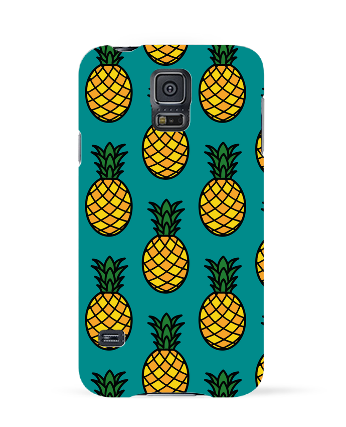 Coque 3D Samsung Galaxy S5 Ananas orange par tunetoo