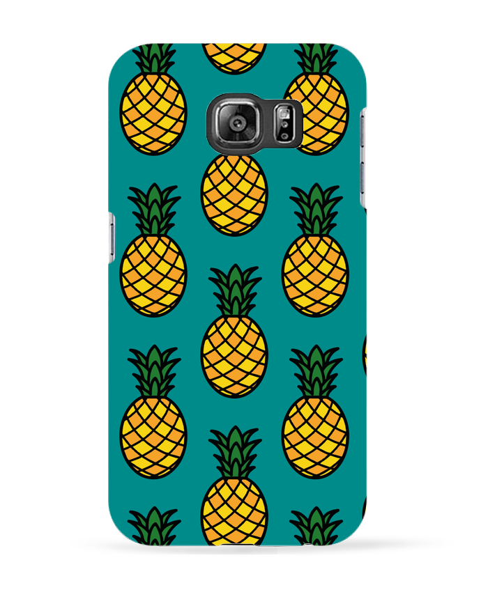 Coque 3D Samsung Galaxy S6 Ananas orange - tunetoo