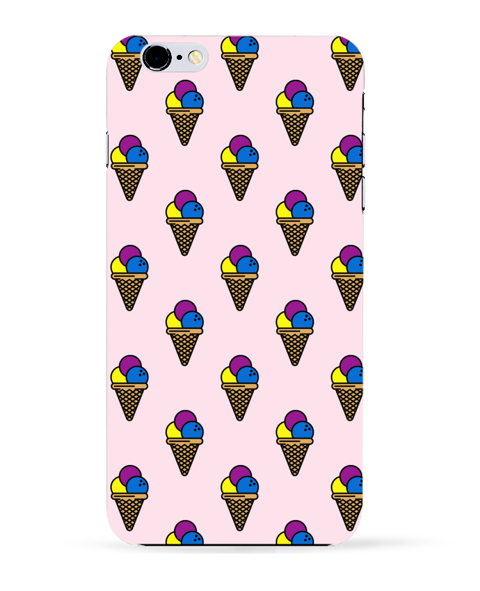 Coque 3D Iphone 6+ Ice cream de tunetoo