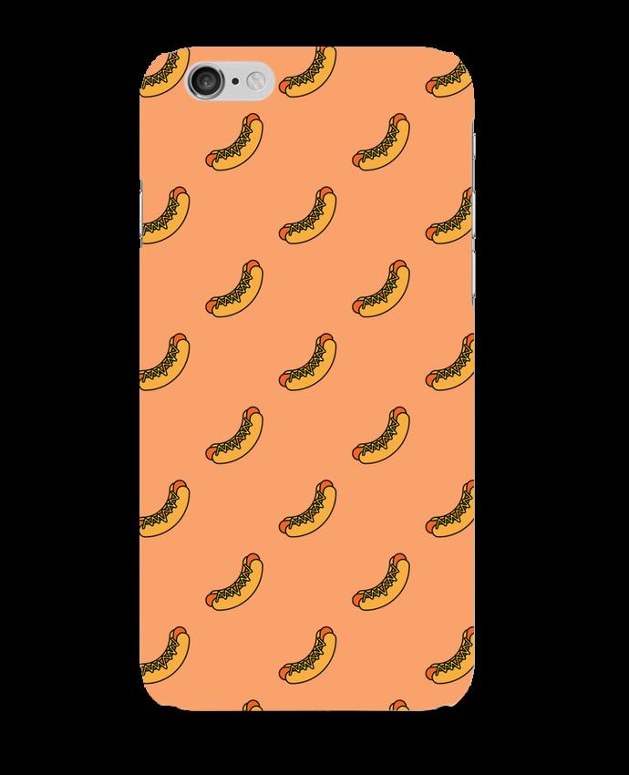 Coque 3D Iphone 6 Hot dog par tunetoo