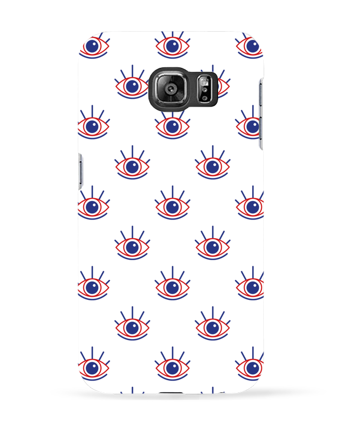 Coque 3D Samsung Galaxy S6 Oeil - tunetoo
