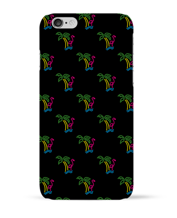 Coque 3D Iphone 6 Island Flamingo par tunetoo