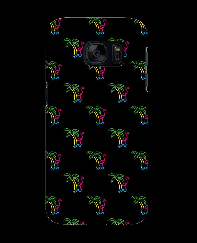 Coque 3D Samsung Galaxy S7 Island Flamingo par tunetoo